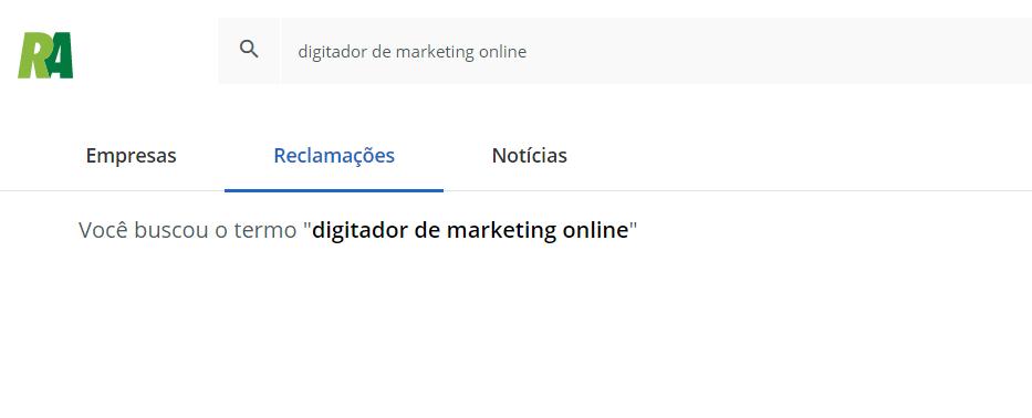 trabalho de digitador online
