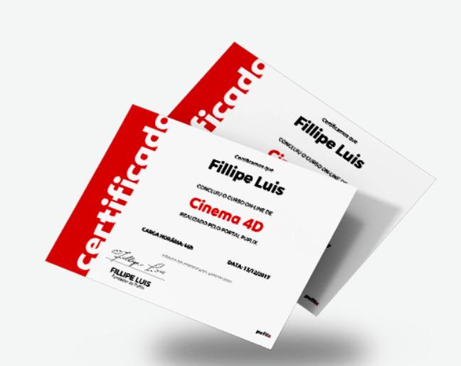 Certificados Puflix Cursos
