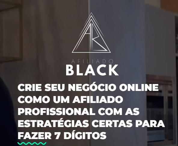 Afiliado Black Imagem