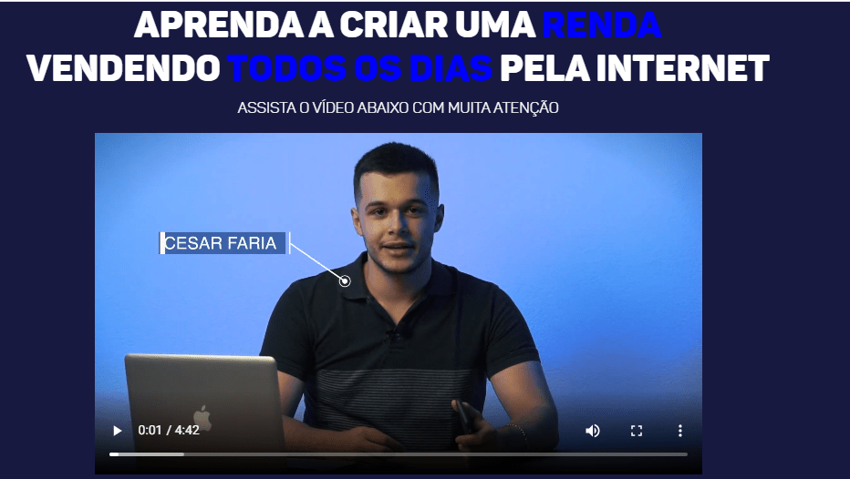 Curso Fast Money Digital Do Cesar Farias