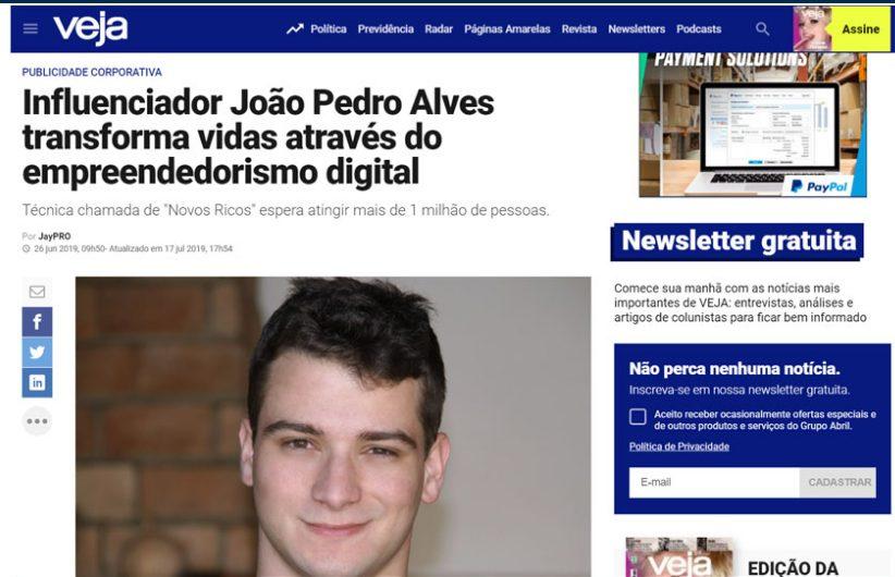 João Pedro Autor Do Método Robô Milionário