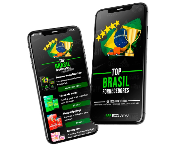 Lista Top Brasil Fornecedores