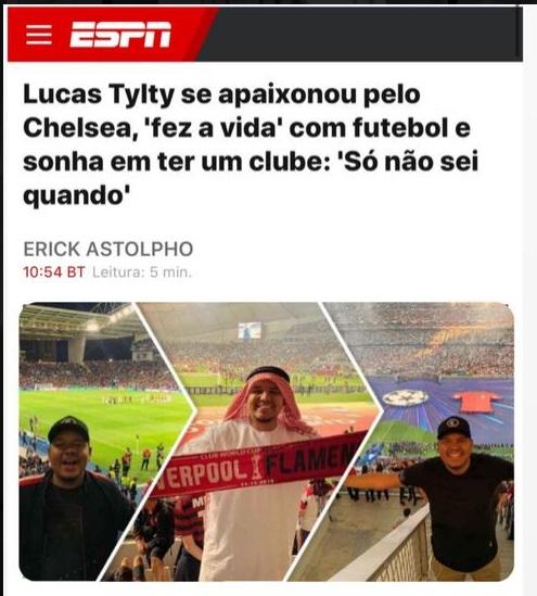 Lucas Tylty é confiável? Presença na mídia