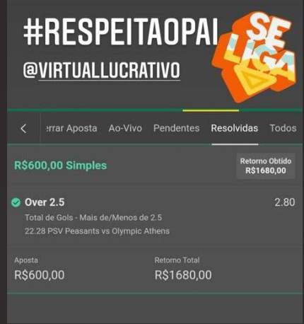 Grupo VIP Virtual Lucrativo depoimentos